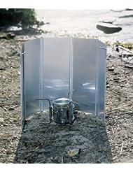 Alu Windschutz 5 Lamellen für Kocher - Faltbar