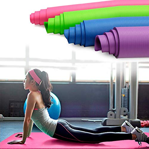 ShopSquare64 KALOAD 183x61 cm Rutschfeste Schaum Yoga matten Fitness Sport Gym üBung Pads Faltbare tragbare Carpet Matte