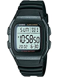 Casio Youth Digital Black Dial Men's Watch - W-96H-1BVDF (D054)