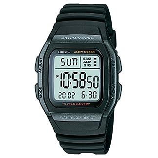 Casio Youth Digital Black Dial Men's Watch – W-96H-1BVDF (D054)