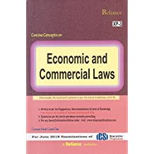 Reliance Publication's Economic and Commercial Laws (ECL) for CS Executive June 2018 Exam