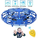 Mini Drones per Bambini e Adulti, Flying Ball Toy Controllato a Mano con Luce a...