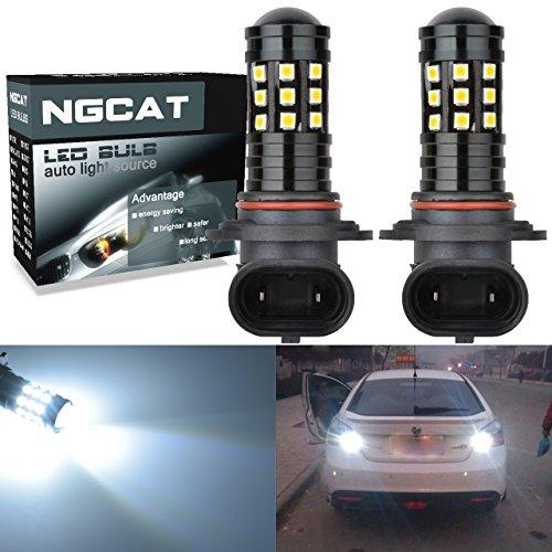 Preisvergleich Produktbild NGCAT Super Hell 2 2700 Lumen 3030 Glühlampe (27 9006 HB4 Linse LED Leuchtmittel für DRL Leuchtmittel Nebel Lichter Day Running Light Lampe 12 V-24 V 6000 K (weiß)