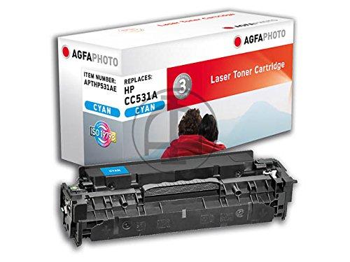Preisvergleich Produktbild AgfaPhoto APTHP531AE Tinte für HP CLJCP2025 Cartridge, 2800 Seiten, cyan