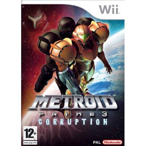 'Metroid Prime 3 Corruption' Wii Spiel Brand Neu (Wii Metroid)