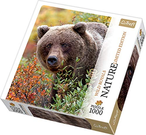 Puzzle 1000 Grizzly Alaska USA Nature Limited Edition Wild Royals -
