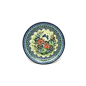 Polish Pottery Plate – Salad/Dessert (7 3/4″) – Unikat Signature U4553