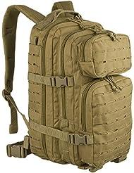 Mochila Mil Tec US Assault de 20 L laser cut color coyote