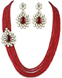 Karatcart Mia Collection Jewel Set For W...