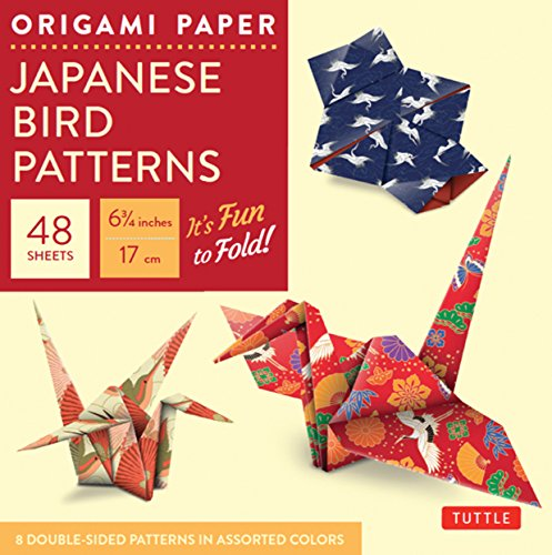 Origami Paper : Japanese Bird Patterns: Perfect for Small Projects or the Beginning Folder par Tuttle Publishing