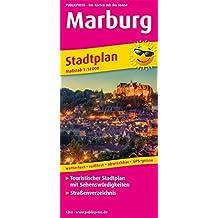 Marburg Stadtplan: Touristischer Stadtplan mit Sehenswürdigkeiten und Straßenverzeichnis. 1:16000 (Stadtplan / SP)