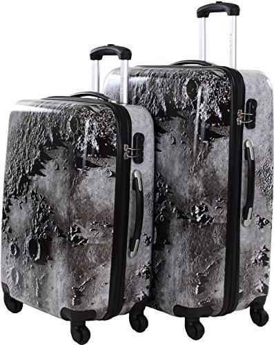 fabrizio Mond-Landschaft Trolley-Set 2 tlg. 68cm, 77cm 2700 graubraun