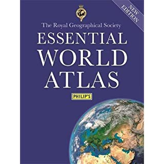 Philip's Essential World Atlas 2018 (Philips Atlas)