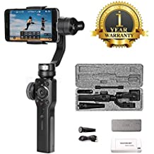 Premsons Smooth 4 Three-Axis Gimbal Smartphone Stabilizer Photo Video Recorder (Jet Black)