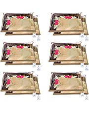 Kuber Industries Non Woven Single Packing Saree Cover 12 pcs Set