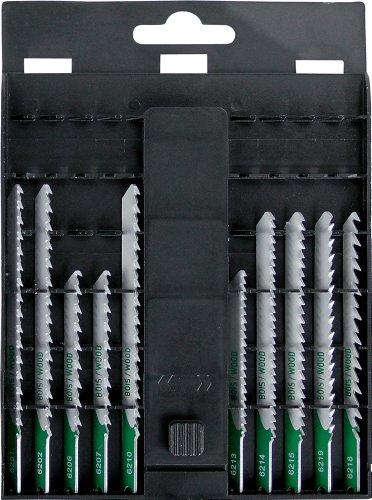 Smartool 962005 - Hoja para sierra caladora con espiga en U (10 unidades, para madera)