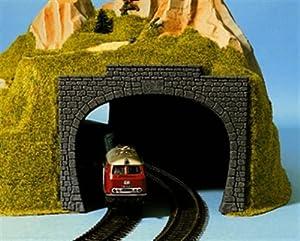 NOCH 60020 Paisaje Parte y Accesorio de juguet ferroviario - Partes y Accesorios de Juguetes ferroviarios (Paisaje, Cualquier Marca, H0, Gris, 125 mm, 15,5 cm)