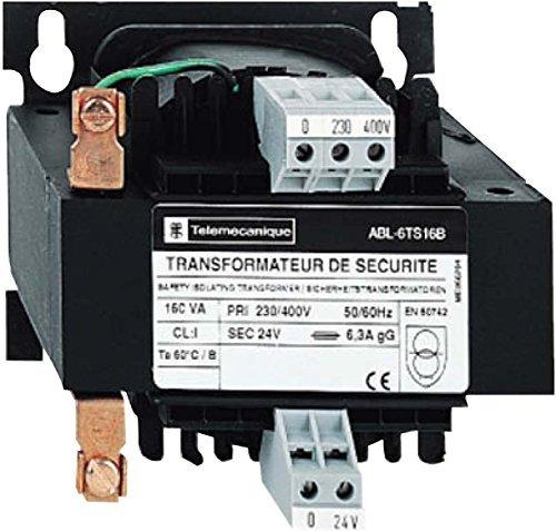 Schneider ABL6TS25B Sicherheits- und Trenntransformator, E: 230/400 Vac, A: 1x 24 Vac, 250 VA -