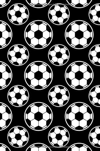 Fussball Muster - Torhüter Stürmer Fans Verein 26: Unliniertes Notizbuch mit Rahmen für Fußballspieler und Fußballfans -