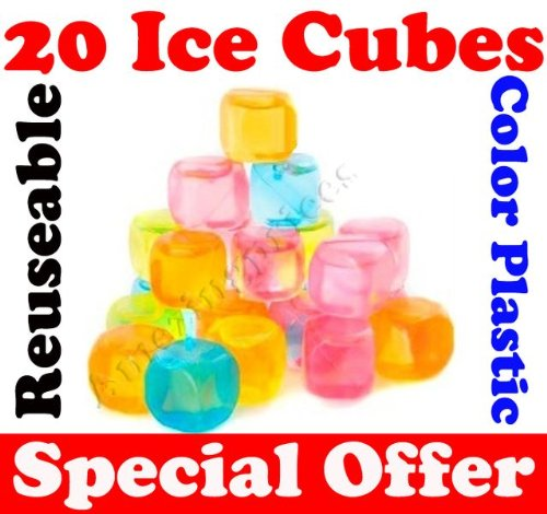 20-x-plastic-ice-cubes-reusable-coloured-party-drink-cooler-new-cubes-forever