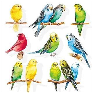 Ambiente Paper Napkins Lunch / Party Appro. 33x33cm Birdies