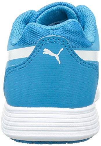 Puma St Trainer Evo Jr Unisex-Kinder Low-Top Blau (atomic blue-atomic blue 02)