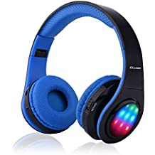 ecandy Bluetooth Headset plegable en la oreja con micrófono F ¨ ¹ r iPhone X 8 Samsung Huawei Tablet