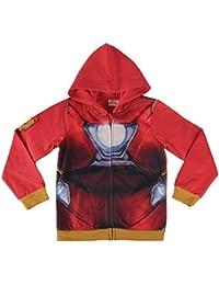 Chaqueta con capucha Avenger Iron Man rojo