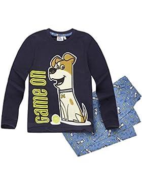 Pets (Secret Life of Pets) Jungen Pyjama Schlafanzug 2016 Kollektion - blau