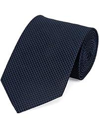Cravate en bleu noir Fabio Farini
