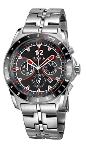 Breil orologio cronografo quarzo uomo con cinturino in acciaio inox tw1249