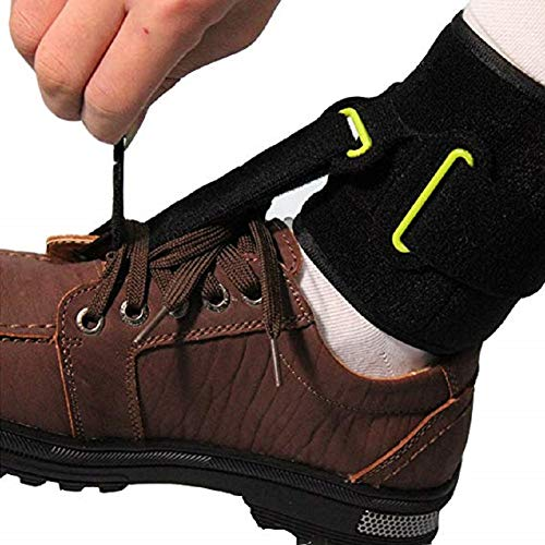 Einstellbarer Foot-UP Ankle Brace/Ankle Joint Foot Drop Orthosis/Pain Relief Plantar Fasciitis Splint Orthotics Strap Ankle Sprain Achilles Tendinitis Ankle Supports (Achilles Support)