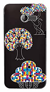 WOW Printed Designer Mobile Case Back Cover For Zenfone 4 A400CG