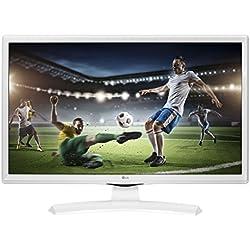 "LG 24TK410VW écran Plat de PC 61 cm (24"") WXGA Mat Blanc - Écrans Plats de PC (61 cm (24""), 1366 x 768 Pixels, WXGA, 5 ms, Blanc)"