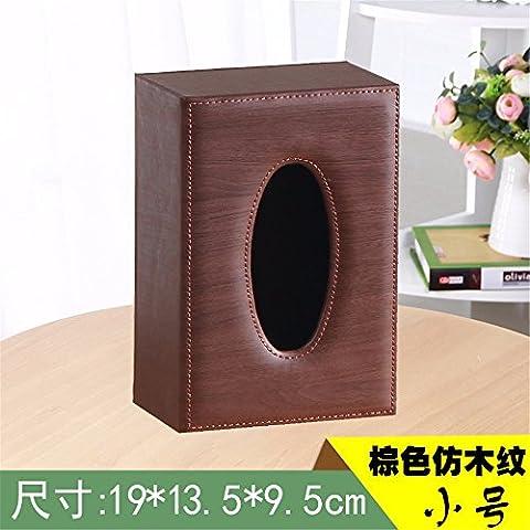 Outside The House Household Leather Tissue Box Living Room Napkin