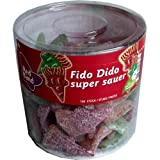 Red Band Super Sour Fido Dido 100 Count