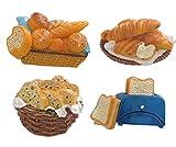 Klassische Kühlschrank-Dekoration, Brot-Muster Personalisierte Magnete