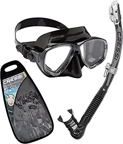 Cressi Marea Ultra Dry Combo Snorkelling Freediving Set - Made