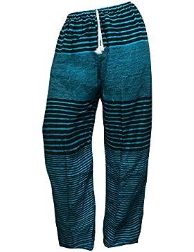 Pantalones holgados con cierre de cuerda amplios MUCHOS DISEÑOS ropa cómoda informal festival yoga pijama pantalones...