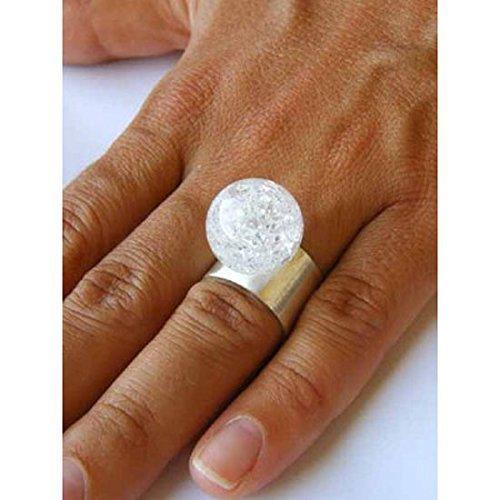 Bergkristalle Ring, Silber 925, NEU