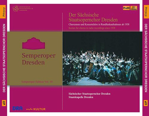 Vol. 10 Semperoper-Edition-Ann [Import allemand]