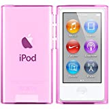 iPod Nano 7G Hülle in Pink - Silikonhülle Case Schutzhülle für Apple iPod Nano 7 Generation - 2015 Version