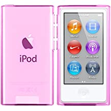 iPod Nano 7G Custodia - moodie Cover Case Silicone per Apple iPod Nano 7G - Rosa