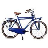 Herren Hollandrad Zonix City 3 Gang 28 Zoll blau 57 cm