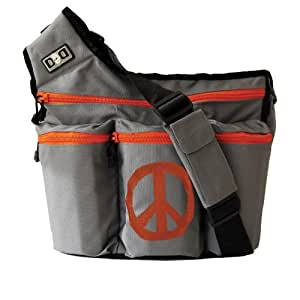 Diaper Dude Grey Peace Bag