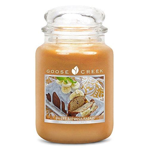 Goose Creek Kerzen-Glas 24 Unzen - Sweet Banana Bread -