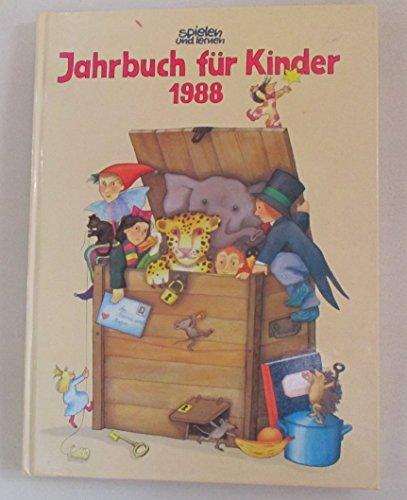 """""""spielen und lernen""""-Jahrbuch für Kinder 1988"""