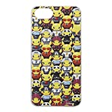 Limited Pokemon Center Original Protective Hard Case for iPhone 7 Members Goko Pikachu