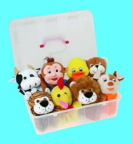 Akros - Marionetas animales: mago mico canto gallo
