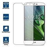 Beiuns Acer Liquid Zest Plus (5,5 pouces) Film Protection d'écran en verre trempé ultra dur protecteur d'écran